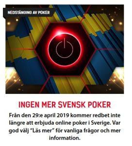Poker er nede, så spill kasinospill på Redbet!