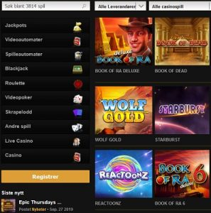 Oppdag flere nye spilleautomater på Videoslots i dag!